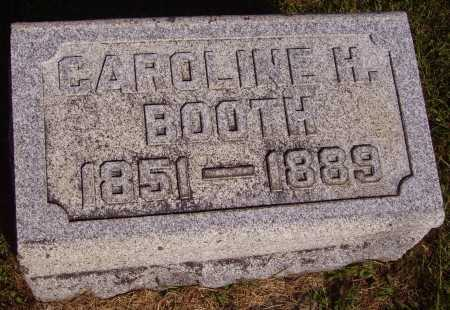 BOOTH, CAROLINE H. - Meigs County, Ohio | CAROLINE H. BOOTH - Ohio Gravestone Photos