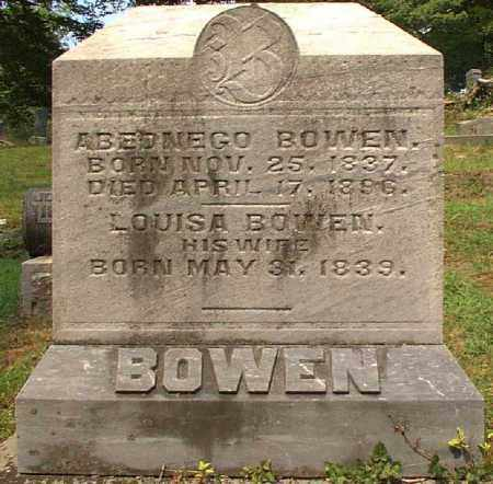 BOWEN, LOUISA - Meigs County, Ohio | LOUISA BOWEN - Ohio Gravestone Photos