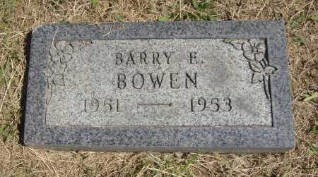 BOWEN, BARRY E. - Meigs County, Ohio | BARRY E. BOWEN - Ohio Gravestone Photos