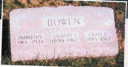 BOWEN, EMMA L.. - Meigs County, Ohio | EMMA L.. BOWEN - Ohio Gravestone Photos