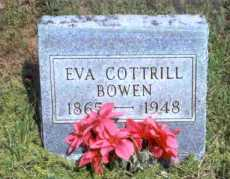 COTTRILL BOWEN, EVA - Meigs County, Ohio | EVA COTTRILL BOWEN - Ohio Gravestone Photos