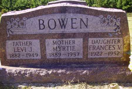 BOWEN, LEVI J. - Meigs County, Ohio | LEVI J. BOWEN - Ohio Gravestone Photos