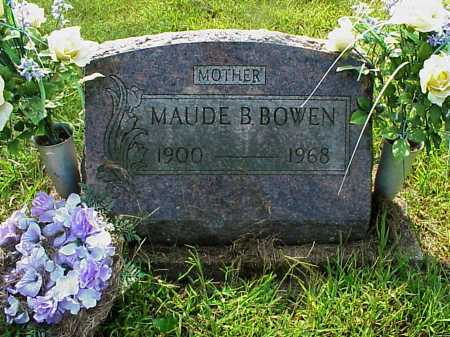 BOWEN, MAUDE B. - Meigs County, Ohio | MAUDE B. BOWEN - Ohio Gravestone Photos
