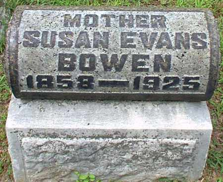EVANS BOWEN, SUSAN - Meigs County, Ohio | SUSAN EVANS BOWEN - Ohio Gravestone Photos
