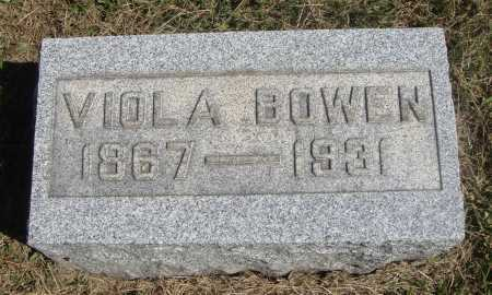 BOWEN, VIOLA - Meigs County, Ohio | VIOLA BOWEN - Ohio Gravestone Photos
