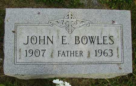 BOWLES, JOHN E. - Meigs County, Ohio | JOHN E. BOWLES - Ohio Gravestone Photos