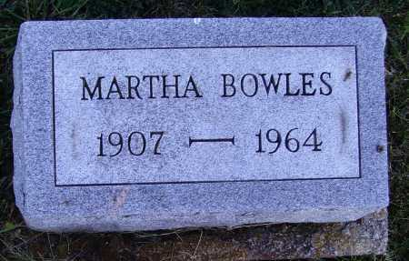 BOWLES, MARTHA - Meigs County, Ohio | MARTHA BOWLES - Ohio Gravestone Photos