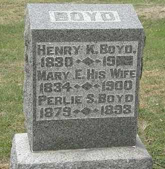 BOYD, HENRY K. - Meigs County, Ohio | HENRY K. BOYD - Ohio Gravestone Photos