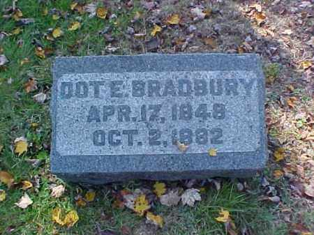 BRADBURY, DOT E. - Meigs County, Ohio | DOT E. BRADBURY - Ohio Gravestone Photos
