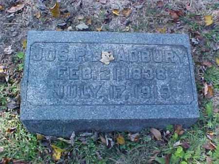 BRADBURY, JOSEPH P. - Meigs County, Ohio | JOSEPH P. BRADBURY - Ohio Gravestone Photos