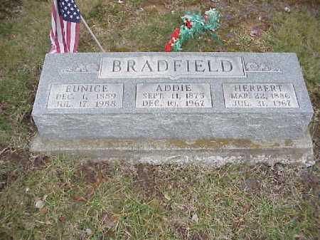 BRADFIELD, EUNICE - Meigs County, Ohio | EUNICE BRADFIELD - Ohio Gravestone Photos