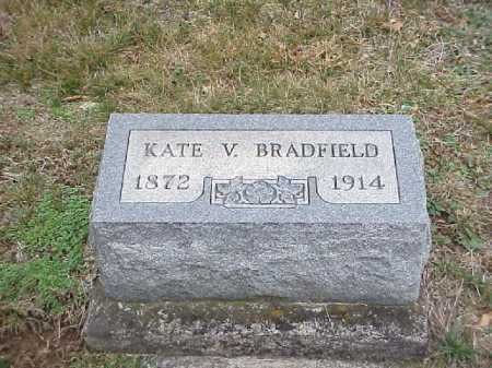 BRADFIELD, KATE V. - Meigs County, Ohio | KATE V. BRADFIELD - Ohio Gravestone Photos