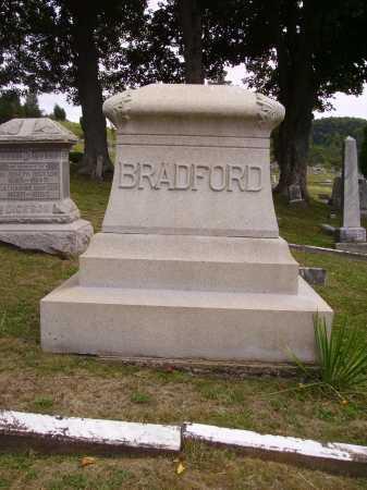 BRADFORD FAMILY, MONUMENT - Meigs County, Ohio | MONUMENT BRADFORD FAMILY - Ohio Gravestone Photos