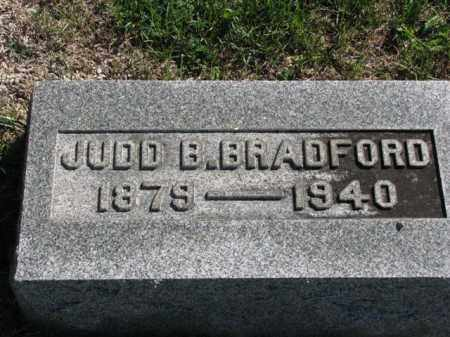 BRADFORD, JUDD B. - Meigs County, Ohio | JUDD B. BRADFORD - Ohio Gravestone Photos