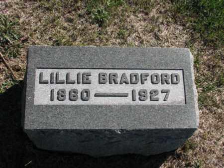 BRADFORD, LILLIE - Meigs County, Ohio | LILLIE BRADFORD - Ohio Gravestone Photos