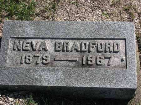 BRADFORD, NEVA - Meigs County, Ohio | NEVA BRADFORD - Ohio Gravestone Photos