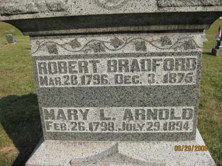 ARNOLD BRADFORD, MARY L - Meigs County, Ohio | MARY L ARNOLD BRADFORD - Ohio Gravestone Photos