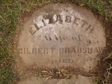 BRADSHAW, ELIZABETH - VIEW 3 - Meigs County, Ohio | ELIZABETH - VIEW 3 BRADSHAW - Ohio Gravestone Photos
