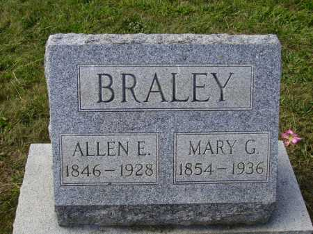 STEEL BRALEY, MARY G. - Meigs County, Ohio | MARY G. STEEL BRALEY - Ohio Gravestone Photos
