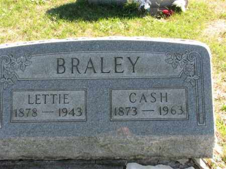 BRALEY, CASH - Meigs County, Ohio | CASH BRALEY - Ohio Gravestone Photos