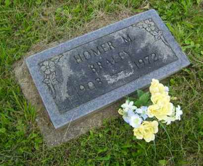 BRALEY, HOMER M. - Meigs County, Ohio | HOMER M. BRALEY - Ohio Gravestone Photos