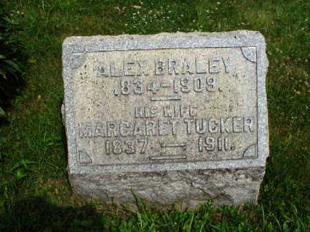 BRALEY, MARGARET - Meigs County, Ohio | MARGARET BRALEY - Ohio Gravestone Photos