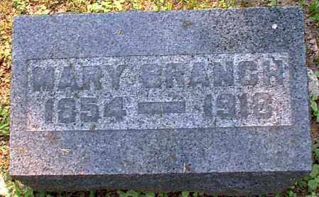 BRANCH, MARY - Meigs County, Ohio | MARY BRANCH - Ohio Gravestone Photos