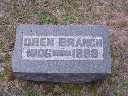BRANCH, OREN - Meigs County, Ohio | OREN BRANCH - Ohio Gravestone Photos