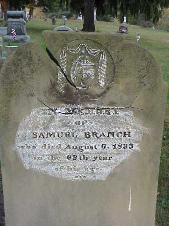 BRANCH, SAMUEL - Meigs County, Ohio | SAMUEL BRANCH - Ohio Gravestone Photos