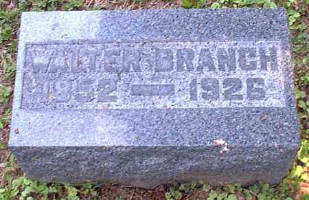 BRANCH, WALTER - Meigs County, Ohio | WALTER BRANCH - Ohio Gravestone Photos