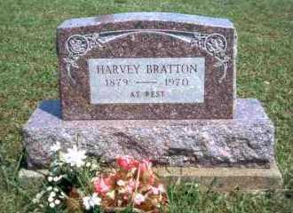 BRATTON, HARVEY - Meigs County, Ohio | HARVEY BRATTON - Ohio Gravestone Photos