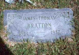 BRATTON, JAMES THOMAS - Meigs County, Ohio | JAMES THOMAS BRATTON - Ohio Gravestone Photos