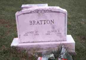 NICHOLASON BRATTON, LINNIE H. - Meigs County, Ohio | LINNIE H. NICHOLASON BRATTON - Ohio Gravestone Photos