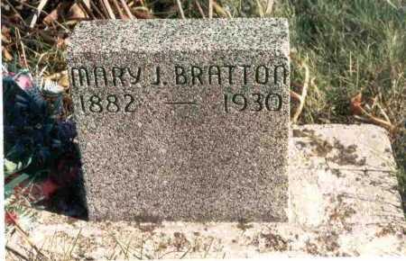 BRATTON, MARY JEWELL - Meigs County, Ohio | MARY JEWELL BRATTON - Ohio Gravestone Photos