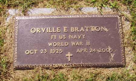 BRATTON, ORVILLE - MILITARY - Meigs County, Ohio | ORVILLE - MILITARY BRATTON - Ohio Gravestone Photos