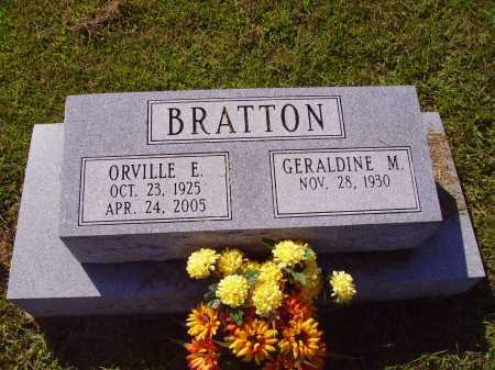 BRATTON, GERALDINE M. - Meigs County, Ohio | GERALDINE M. BRATTON - Ohio Gravestone Photos