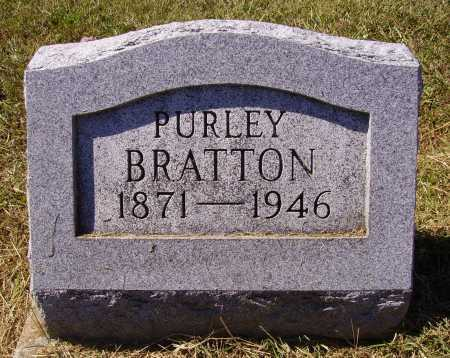 BRATTON, PURLEY - Meigs County, Ohio | PURLEY BRATTON - Ohio Gravestone Photos