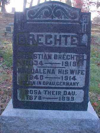 BRECHTEL, ROSA - Meigs County, Ohio | ROSA BRECHTEL - Ohio Gravestone Photos