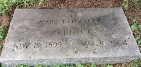 BRENICK, MARY ELIZABETH - Meigs County, Ohio | MARY ELIZABETH BRENICK - Ohio Gravestone Photos
