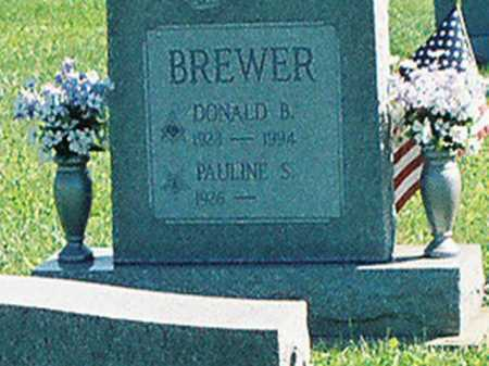BREWER, DONALD B. - Meigs County, Ohio | DONALD B. BREWER - Ohio Gravestone Photos