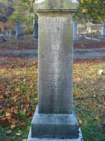 BREWSTER, ERMA - Meigs County, Ohio | ERMA BREWSTER - Ohio Gravestone Photos