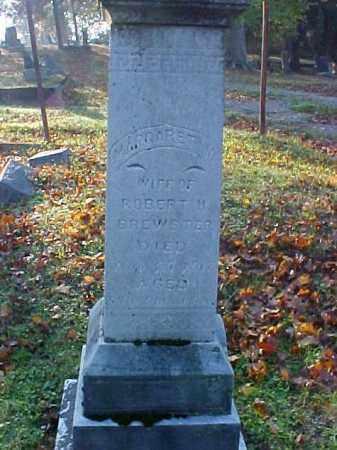 BREWSTER, MARGARET MARINDA - Meigs County, Ohio   MARGARET MARINDA BREWSTER - Ohio Gravestone Photos