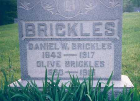 BRICKLES, OLIVE - Meigs County, Ohio | OLIVE BRICKLES - Ohio Gravestone Photos