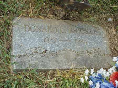 BRICKLES, DONALD L. - Meigs County, Ohio | DONALD L. BRICKLES - Ohio Gravestone Photos