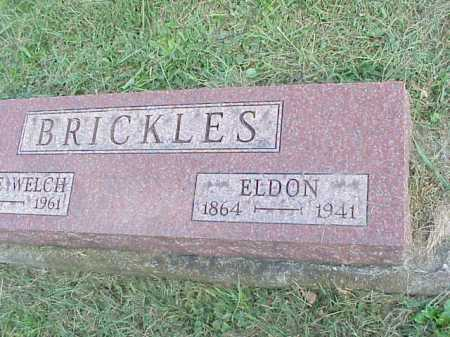 BRICKLES, ELDON - Meigs County, Ohio | ELDON BRICKLES - Ohio Gravestone Photos