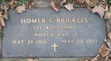 BRICKLES, HOMER C - Meigs County, Ohio | HOMER C BRICKLES - Ohio Gravestone Photos