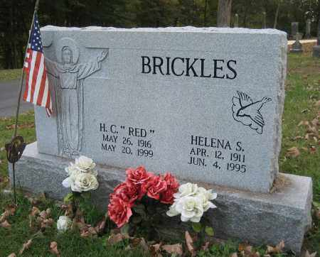 BRICKLES, HELENA S - Meigs County, Ohio | HELENA S BRICKLES - Ohio Gravestone Photos
