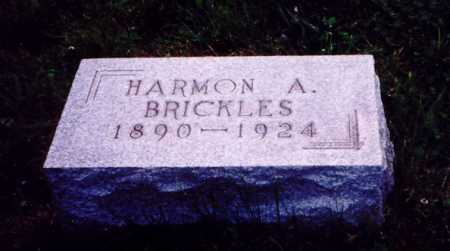 BRICKLES, HARMON A. - Meigs County, Ohio | HARMON A. BRICKLES - Ohio Gravestone Photos
