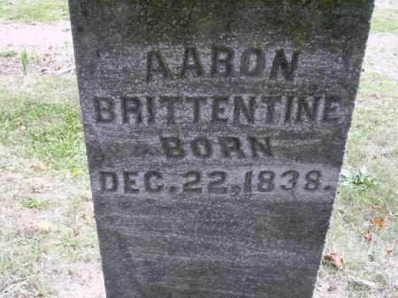 BRITTENTINE, AARON - Meigs County, Ohio | AARON BRITTENTINE - Ohio Gravestone Photos
