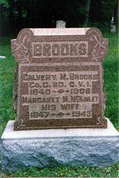 BROOKS, MARGARET - Meigs County, Ohio | MARGARET BROOKS - Ohio Gravestone Photos